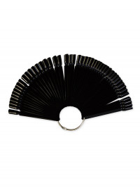 Палитра-веер черная для 00 цветов