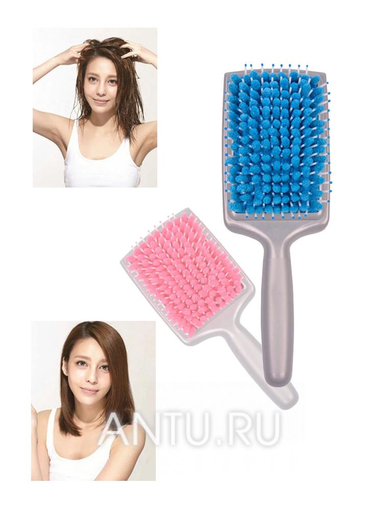 Щетка для сушки волос с микрофиброй - Щетка для сушки волос с микрофиброй 236fb41ea1bec