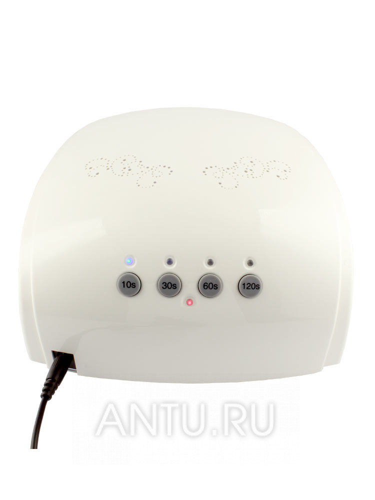 UNO, Лампа CUBE MIX  CCFL/LED 30 W White - back view UNO CUBE